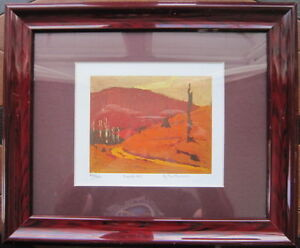 TWO TOM THOMSON TITLED AND NUMBERED LIMITED EDITION PRINTS