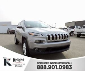 2016 Jeep Cherokee North Back-Up Cam Bluetooth. Remote Start Hea