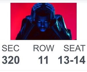 Weeknd Starboy Tour May 26th @ ACC - $300 FOR TWO
