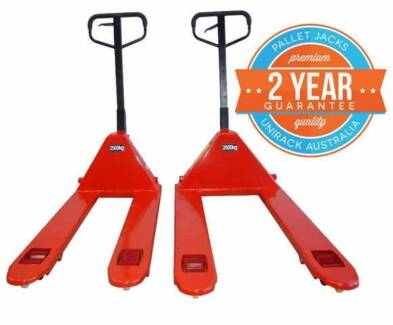 NEW PALLET JACK  -  HEAVY DUTY 2500KG CAPACITY