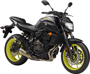 2018 YAMAHA - MT-07 MOTOCYCLE