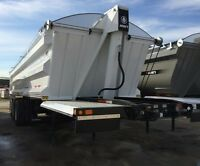 2016 Arne's End Dump, New Gravel Trailer