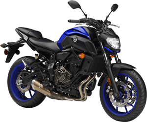 YAMAHA MT07 2018 DEMO