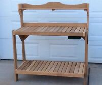 Western Red Cedar Gardener's Potting Bench