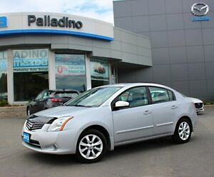 2012 Nissan Sentra 2.0 SL - LOW KM + 6 SPEED MANUAL + SUNROOF &