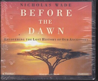BEFORE THE DAWN by NICHOLAS WADE 11 CD's 13 HOURS UNABRIDGED  (Dawn Wade)