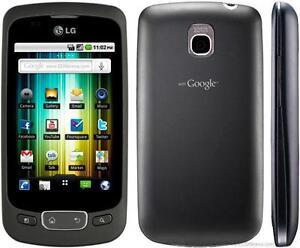 LG OPTIMUS ONE P500 UNLOCKED WIFI ANDROID FIDO ROGERS PUBLIC MOBILE KOODO BELL VIRGIN TELUS CHATR GSM HSPA CUBA AFRICA