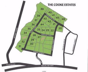 Cooke Eststes! Nauwigewauk's Newest Subdivision!
