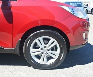 2011 Hyundai ix35 LM MY11 Elite AWD Red 6 Speed Sports Automatic Wagon Bayswater Bayswater Area Preview