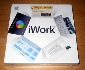 Apple iWork 08 - Brand New & Factory Sealed