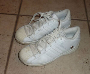 Lands End outdoor, Adidas sneakers, rubber boots, youth size 4 Kitchener / Waterloo Kitchener Area image 3