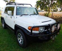 2014 Toyota FJ Cruiser GSJ15R MY14 White 5 Speed Automatic Wagon Hidden Valley Darwin City Preview