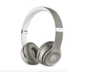 Brand New Beats By Dre Solo2 On-Ear Headphones, Silver Edition