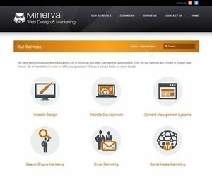 Montreal Web Design - Minerva Web Design & Marketing