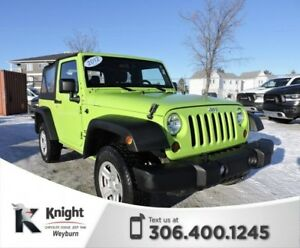 2012 Jeep Wrangler Sport 4WD Manual Soft Top CD Player