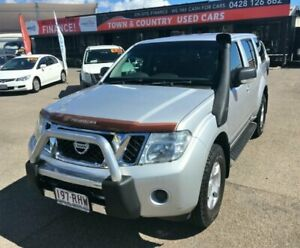 2010 Nissan Pathfinder R51 MY10 ST Silver Semi Auto Wagon Garbutt Townsville City Preview