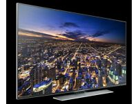 "Samsung 65"" LED 4K UHD smart 3D tv built HD freeview and HDR."