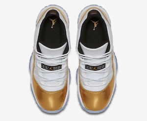 Air Jordan Retro XI 11 Low CLOSING CEREMONY Olympic Gold Size:9 Kitchener / Waterloo Kitchener Area image 4