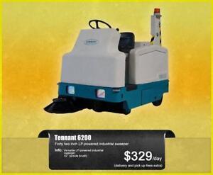 Tennant Industrial Sweepers - Rentals!