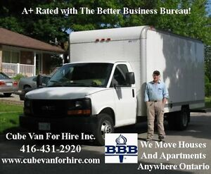 This Mover is A+ Rated with The Better Business Bureau!