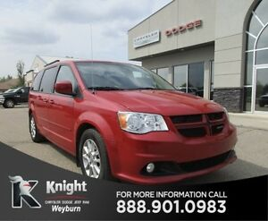2013 Dodge Grand Caravan R/T Heated Leather NAV Back-Up Cam DVD