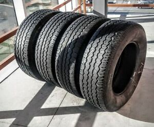 Set of four 265/65/17 BF Goodrich tires