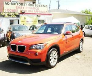 2013 BMW X1 TECHPACK AWD NAVi PANOSUNROOF W/ AUTO START/STOP OPT