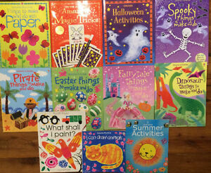 USBORNE Things to Make and Do Books! $4 each or all 11 for $30