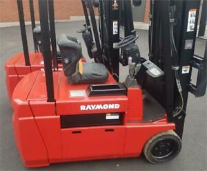 Raymond forklift 2014 , Lift truck 3500 Lbs with side shift 445