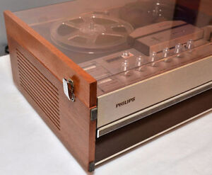philips 4407 Reel-to Reel tape bobine 4 track tape player WORKS West Island Greater Montréal image 7
