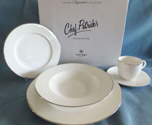 CHEF PATRICK'S DINNERWARE SET, Brand New Never Used in Box 15$.