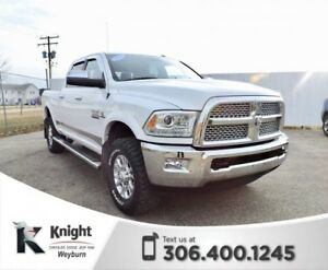 2015 Ram 3500 Laramie Heated/Cooled Leather NAV Back-Up Cam Tow