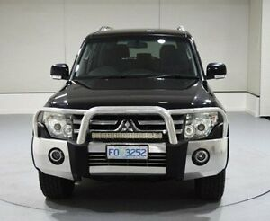 2007 Mitsubishi Pajero NS VR-X Black 5 Speed Sports Automatic Wagon Invermay Launceston Area Preview