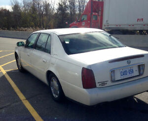 2001 Cadillac DeVille & DTS Leather Sedan