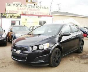 2014 CHEVROLET SONIC LT AUTO REMOTE START SPORTY 100% FINANCING!