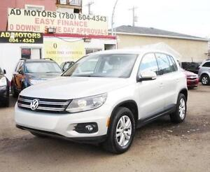 """ SALE THIS WEEK ""  2014 VOLKSWAGEN TIGUAN AWD AUTO LOADED 77KM!"
