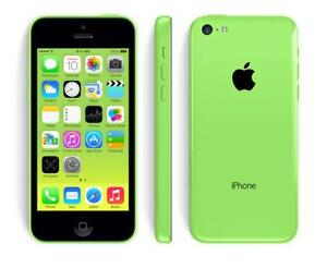 Green Apple iPhone 5c With Bell/Virgin @ One Stop Cell Shop