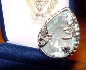 Silver pendant with glass inlay ladies pendant jewelry