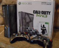 PACK XBOX 360 MW3 limited edition 320gb + jeux sur le HDD