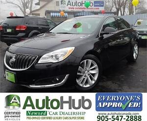 2015 Buick Regal TURBO | LEATHER | POWER SEAT | CAMER | ALLOY |