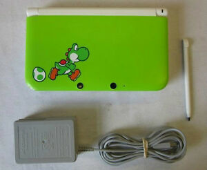 *****YOSHI LIMITED EDITION NINTENDO 3DS XL VERTE A VENDRE / GREEN YOSHI LIMITED EDITION NINTENDO 3DS XL FOR SALE*****