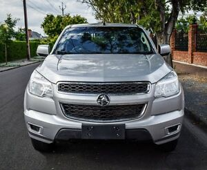 2012 Holden Colorado RG MY13 LX Crew Cab Silver 5 Speed Manual Utility Medindie Walkerville Area Preview