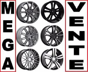 Mags 5x112 et 5x114.3! MAGS POUR  HONDA AUDI ACURA MERCEDES ETC!!!