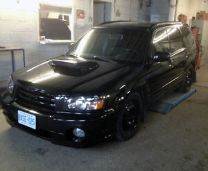 SUBARU 2004 FORESTER XT WAGON MANUAL TURBO, TUNED