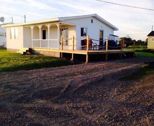 Beautiful Waterview Cottage for Rent  Near Shediac