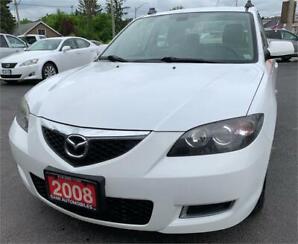 2008 Mazda Mazda3 GX*ONE OWNER* ACCIDENT FREE*LOW KM