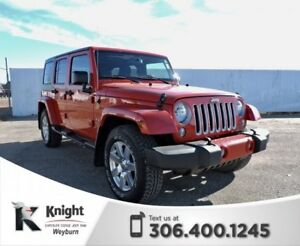 2016 Jeep Wrangler Unlimited Sahara NAV Heated Seats Bluetooth