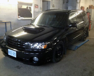 2004 SUBARU FORESTER XT XTi STi WAGON, MANUAL, TUNED & BOOSTED