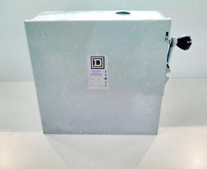 """SQUIRE """"D"""" - INTERRUPTEUR A DEUX DIRECTIONS - T3 - 60 A - 600 V"""