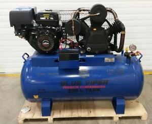 NEW MOBILE 66 GALLON 15 HP E START COMPRESSOR GAS